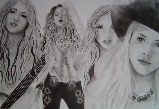Shakira by Mayumi